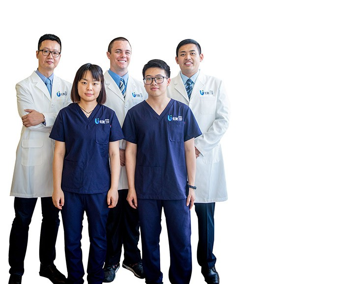 Up Clinic Shanghai Team