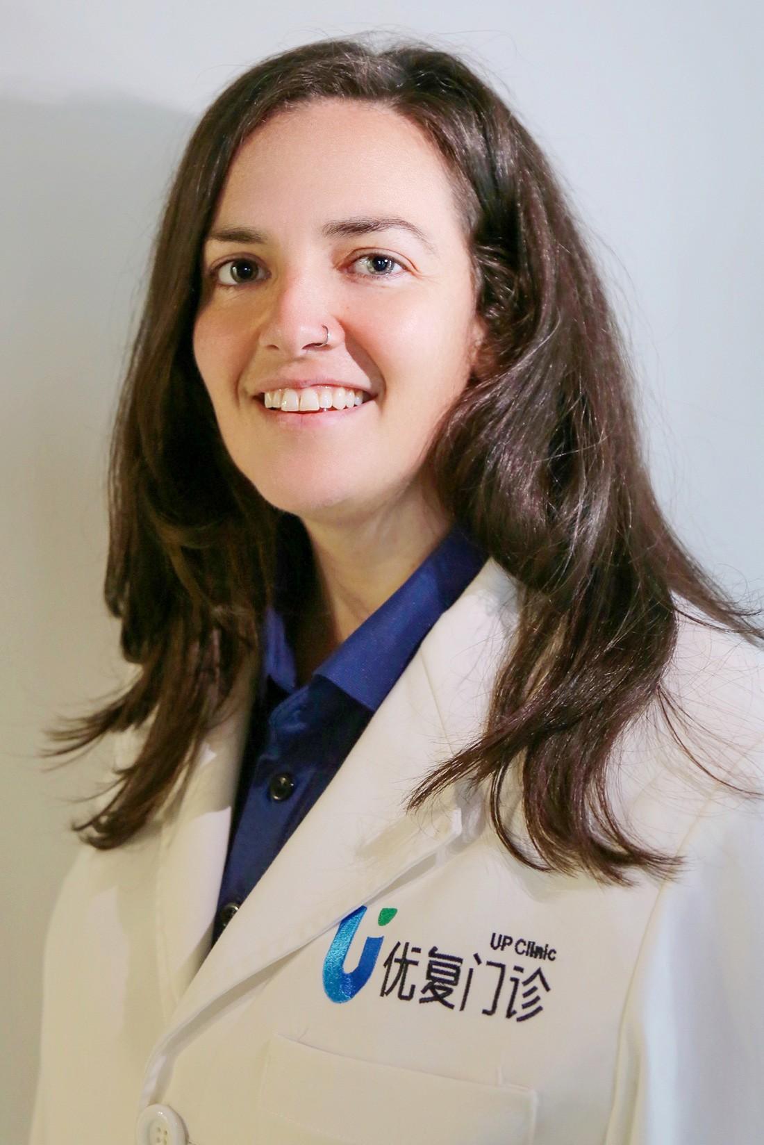 Jenna McArthur UP Clinic Shanghai
