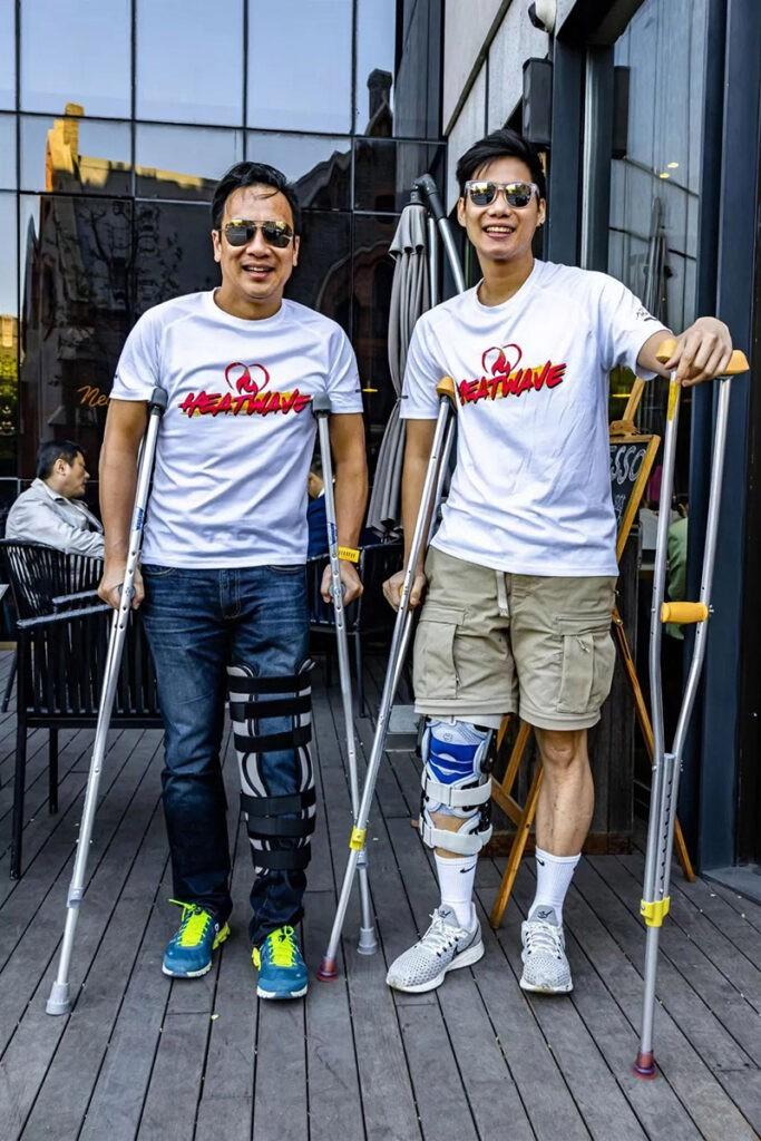 running injury UP Clinic Shanghai China